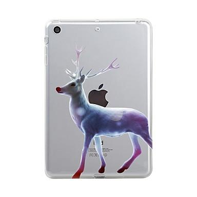 Maska Pentru Apple iPad Mini 4 iPad Mini 3/2/1 iPad 4/3/2 iPad Air 2 iPad Air iPad (2017) Transparent Model Capac Spate Crăciun Moale TPU