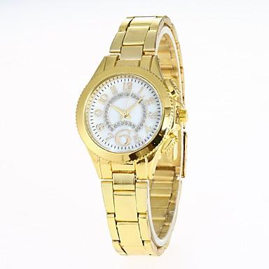 Pentru femei Ceas La Modă Ceas de Mână Chineză Quartz Aliaj Bandă Casual Argint Auriu