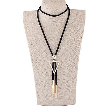 6db39d4d58b abordables Collier-Collier Pendentif Collier Sautoir Femme Long Cœur dames  Rétro Vintage Mode Noir Colliers