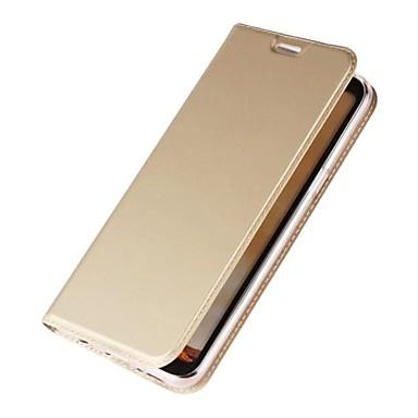 Maska Pentru Samsung Galaxy S8 Plus S8 Titluar Card Cu Stand Întoarce Magnetic Carcasă Telefon Culoare solidă Greu PU piele pentru S8