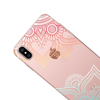 TPU X 8 pizzo Morbido iPhone Plus iPhone La Apple Per iPhone Per iPhone 06283780 stampa disegno Custodia per in 8 X retro Fantasia Transparente nHxw0TU