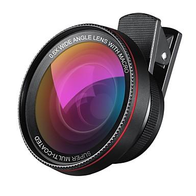 ieftine Cameră Mobil Atașare-2 în 1 profesionale hd obiectiv camera kit 0.6x super-unghi larg obiectiv 10x macro obiectiv universal clip-on lentilă telefon mobil