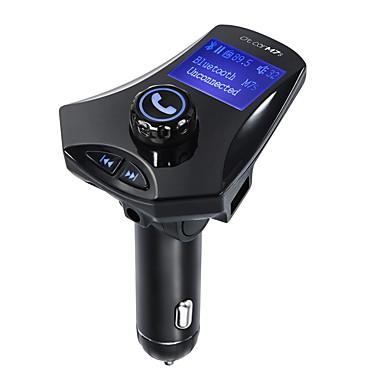 voordelige Bluetooth autokit/handsfree-m7s fm zender bluetooth fm zender audio auto mp3 speler handsfree auto tf kaart slot en usb oplader