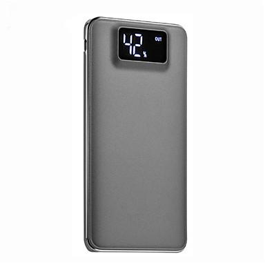 10000mAh noodoplader externe batterij 5 Oplader Zaklamp Meerdere uitgangen QC 2.0 Super plat LCD