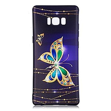 케이스 제품 Samsung Galaxy 패턴 뒷면 커버 버터플라이 소프트 TPU 용 Note 8 Note 5 Edge Note 5 Note 4 Note 3 Lite Note 3 Note 2 Note Edge Note
