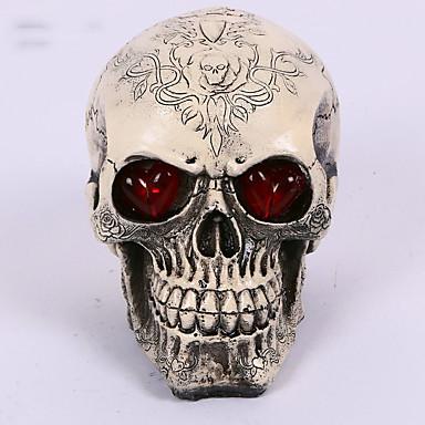 1pc Halloween rădăcină craniu casa scape creaturi popi decoratiuni design este aleatoriu