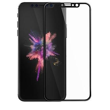 voordelige iPhone X screenprotectors-Screenprotector Apple voor iPhone X Gehard Glas 1 stuks 3D gebogen rand Krasbestendig 9H-hardheid