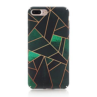 Coque Pour Apple iPhone X iPhone 8 Dépoli Motif Coque Formes Géométriques Dur PC pour iPhone X iPhone 8 Plus iPhone 8 iPhone 7 Plus