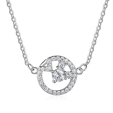 povoljno Modne ogrlice-Žene Dijamant Ogrlice s privjeskom dame Moda Plastika Pink Ogrlice Jewelry Za Dar Dnevno
