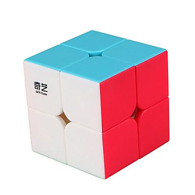 مكعب روبيك QI YI QIDI S 162 2*2*2 السلس مكعب سرعة مكعبات سحرية لغز مكعب ملصقات مصقولة مربع هدية