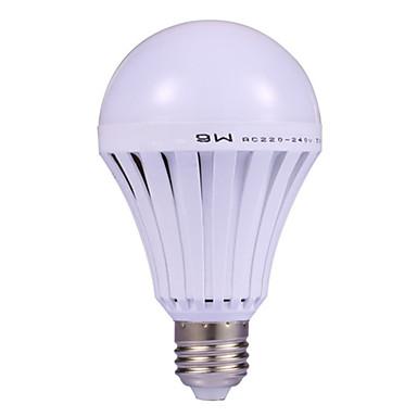 hhy korkealaatuinen led-lamppu 12w led-valot kotiin leirintäalue metsästys hätäpuhelin ladattava 220v e26 / e27