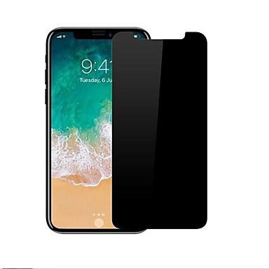 Skærmbeskytter for Apple iPhone X Hærdet Glas 1 stk 9H hårdhed / 2.5D bøjet kant / Ridsnings-Sikker