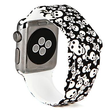 Horlogeband voor Apple Watch Series 3 / 2 / 1 Apple Polsband Sportband Silicone