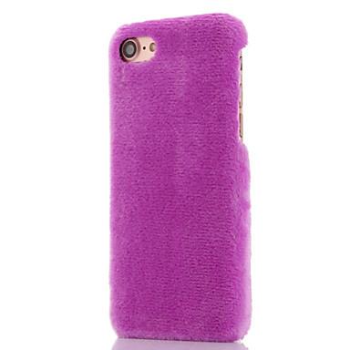 voordelige iPhone X hoesjes-hoesje Voor Apple iPhone X / iPhone 7 Plus / iPhone 7 Schokbestendig Volledig hoesje Effen Zacht tekstiili