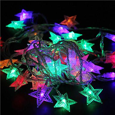 10m 60 de rgb lumini stele lumini de vacanță decor de nunta parte cortina lumini șir de lumini 220v
