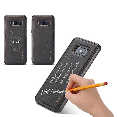 voordelige Galaxy S-serie hoesjes / covers-hoesje Voor Samsung Galaxy S8 Plus / S8 / S7 edge DHZ Achterkant Effen Hard Puinen