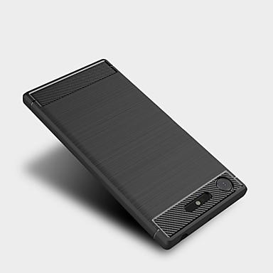 voordelige Hoesjes / covers voor Sony-hoesje Voor Sony Xperia XZ1 Compact / Sony Xperia XZ1 / Sony Xperia XZ Premium Mat Achterkant Effen Zacht TPU