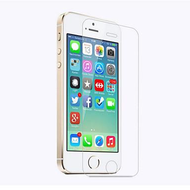 Недорогие Защитные пленки для iPhone SE/5s/5c/5-AppleScreen ProtectoriPhone SE / 5s HD Защитная пленка для экрана 1 ед. Закаленное стекло