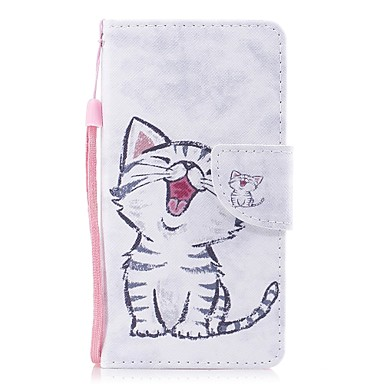 Case For Apple iPhone X iPhone 8 Card Holder Wallet with Stand Flip Pattern Full Body Cases Cat Hard PU Leather for iPhone X iPhone 8