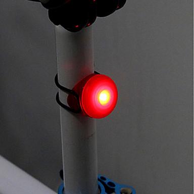 cheap Bike Lights-Bike Light Rear Bike Tail Light LED Cycling Easy Carrying CR2032 Button Battery Cycling / Bike