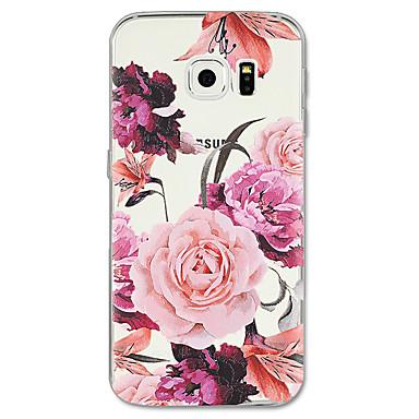 Coque Pour Samsung Galaxy S8 Plus S8 Motif Coque Fleur Flexible TPU pour S8 Plus S8 S7 edge S7 S6 edge plus S6 edge S6