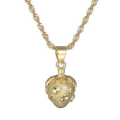 billige Mode Halskæde-Dame Halskædevedhæng Jordbær Vintage Basale Guld Halskæder Smykker 1 Til Gave Formel