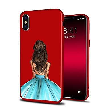 per 8 Per X iPhone iPhone disegno 06446754 8 Fantasia iPhone Plus Per iPhone retro iPhone X Custodia animati Sexy Cartoni 8 Morbido Plus Apple TPU aUgdc8Aq