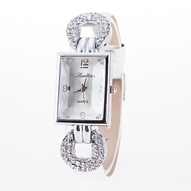 Dámské Pro páry Náramkové hodinky Křemenný Černá   Bílá   Modrá Hodinky na  běžné nošení Analog ff8778e3ee