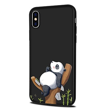 Cartoni iPhone Fantasia Panda disegno iPhone Plus retro X Custodia iPhone per Per X iPhone Morbido 8 8 Apple Plus 06455017 animati Per iPhone TPU Sx07qPB