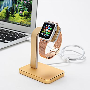 Coteetci Uhr stehen für Apfel Uhren Serie 1 2 Aluminium Stand 38mm / 42mm Kabel nicht enthalten