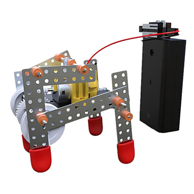 Robot Zabawka edukacyjna Zabawki Maszyna Robot Architektura Chodzenie Zabawne DIY Edukacja DZIECIĘCE Dziecięce Sztuk