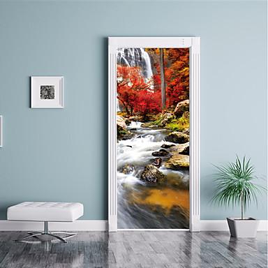 Adesivi Vinile Per Porte.Paesaggi Pittoresco Adesivi Murali Adesivi 3d Da Parete Adesivi