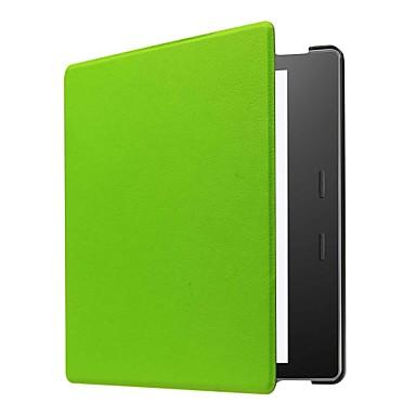 Etui Til Amazon Kindle Oasis 2 (2. generation, 2017 Release) Fuldt etui Ensfarvet Hårdt PU Læder for Kindle Oasis 2(2nd Generation, 2017 Release)