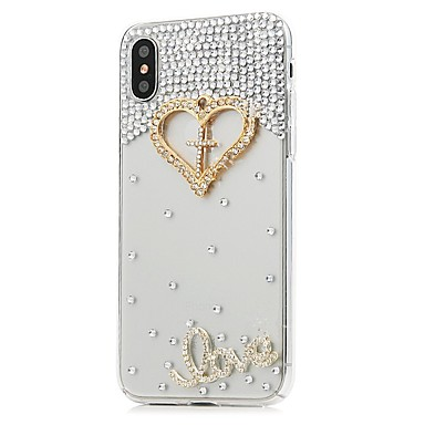 sintetica Per Custodia 06509063 diamantini Resistente Fiore Con 8 Apple disegno per Integrale X iPhone Plus Fantasia decorativo pelle iPhone AqrqFdaRU