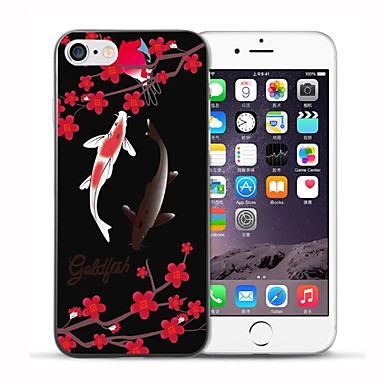 iPhone 7 disegno per 7 iPhone iPhone Plus Morbido decorativo Per 8 Per TPU iPhone 8 Fantasia Plus retro Apple 06479249 Fiore 8 iPhone Custodia 0nFWAE11