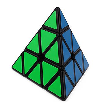 Zauberwürfel Pyramid Glatte Geschwindigkeits-Würfel Magische Würfel Puzzle-Würfel Glatte Aufkleber Dreieck Geschenk