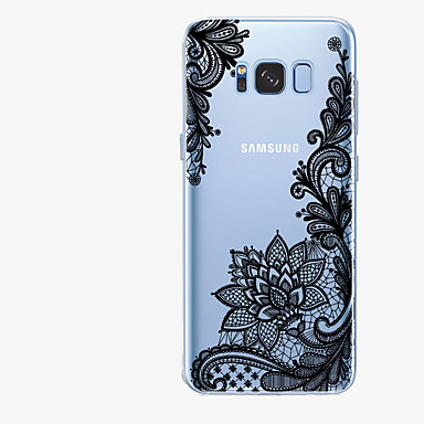 voordelige Galaxy S-serie hoesjes / covers-hoesje Voor Samsung Galaxy S8 Plus / S8 / S7 edge Patroon Achterkant Lace Printing Zacht TPU