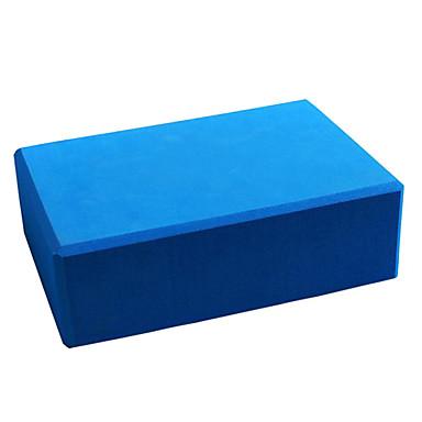 Yoga Block 1 pcs 22.5*14.5*7.5 cm Hohe Dichte, Feuchtigkeitsfest, Leichtes Gewicht EVA Unterstützen und vertiefen Posen, Hilfe Balance und Flexibilität Zum Pilates / Fitness / Fitnessstudio Grün