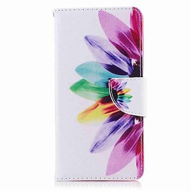 Coque Pour Nokia Nokia 8 Nokia 6 Porte Carte Portefeuille Avec Support Clapet Motif Coque Intégrale Fleur Dur faux cuir pour Nokia 8
