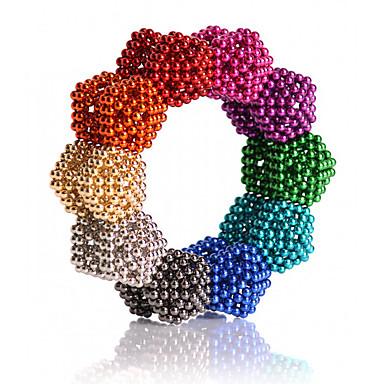 Магнитные игрушки Сильные магниты из редкоземельных металлов Неодимовый магнит Магнитные шарики 216 Куски 5mm Игрушки Металл Классический