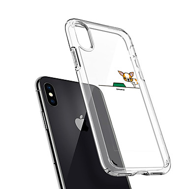 06507177 8 Per disegno Per TPU Apple Con Plus iPhone iPhone 7 iPhone iPhone iPhone X Morbido Fantasia per cagnolino retro 8 Custodia 8 iPhone X SCUdU