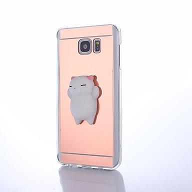 voordelige Galaxy Note 5 Hoesjes / covers-hoesje Voor Samsung Galaxy Note 8 / Note 5 / Note 4 DHZ / squishy Achterkant dier Hard Acryl