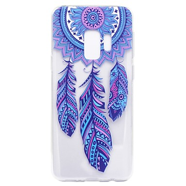 [$3.99] Case For Samsung Galaxy S9 S9 Plus Pattern Back Cover Dream Catcher Soft TPU for S9 Plus S9 S8 Plus S8 S7 edge S7 S5 Mini S5