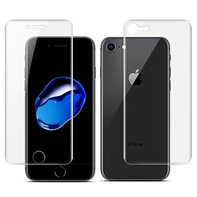 voordelige iPhone 7 screenprotectors-AppleScreen ProtectoriPhone 7 3D gebogen rand Voorkant- & achterkantbescherming 2 pcts TPU Hydrogel