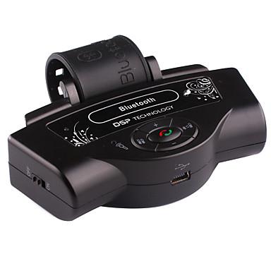auto draadloze stuurwiel handsfree bluetooth mp3 speaker kit voor telefoon