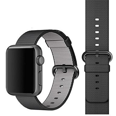 Недорогие Ремешки для Apple Watch-Ремешок для часов для Apple Watch Series 4/3/2/1 Apple Спортивный ремешок Нейлон Повязка на запястье