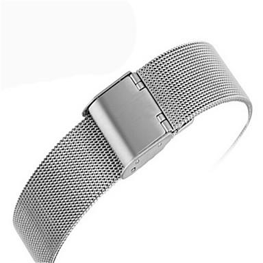 Недорогие Аксессуары для смарт-часов-Ремешок для часов для Apple Watch Series 4/3/2/1 Apple Современная застежка Стали Повязка на запястье