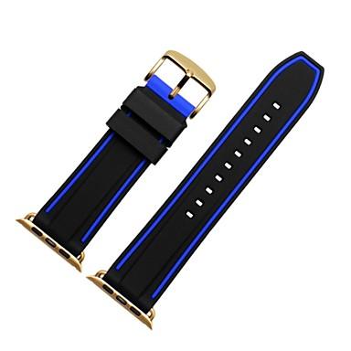 זול רצועות לApple Watch-צפו בנד ל Apple Watch Series 4/3/2/1 Apple רצועת ספורט / אבזם מודרני סיליקוןריצה רצועת יד לספורט