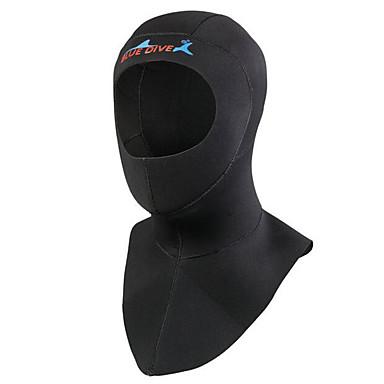 Bluedive Dla obu płci 3mm Gruby/a Kaptury nurkowe Keep Warm Quick Dry Anatomiczny kształt Gruba Zdejmowany Nylon Neoprene Skafander