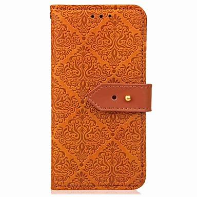Кейс для Назначение SSamsung Galaxy S9 / S9 Plus / S8 Plus Флип / С узором / Магнитный Чехол Плитка / Геометрический рисунок Твердый Кожа PU